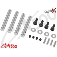 CopterX (CX500-01-51) CX500 4-Blades Feathering Shaft